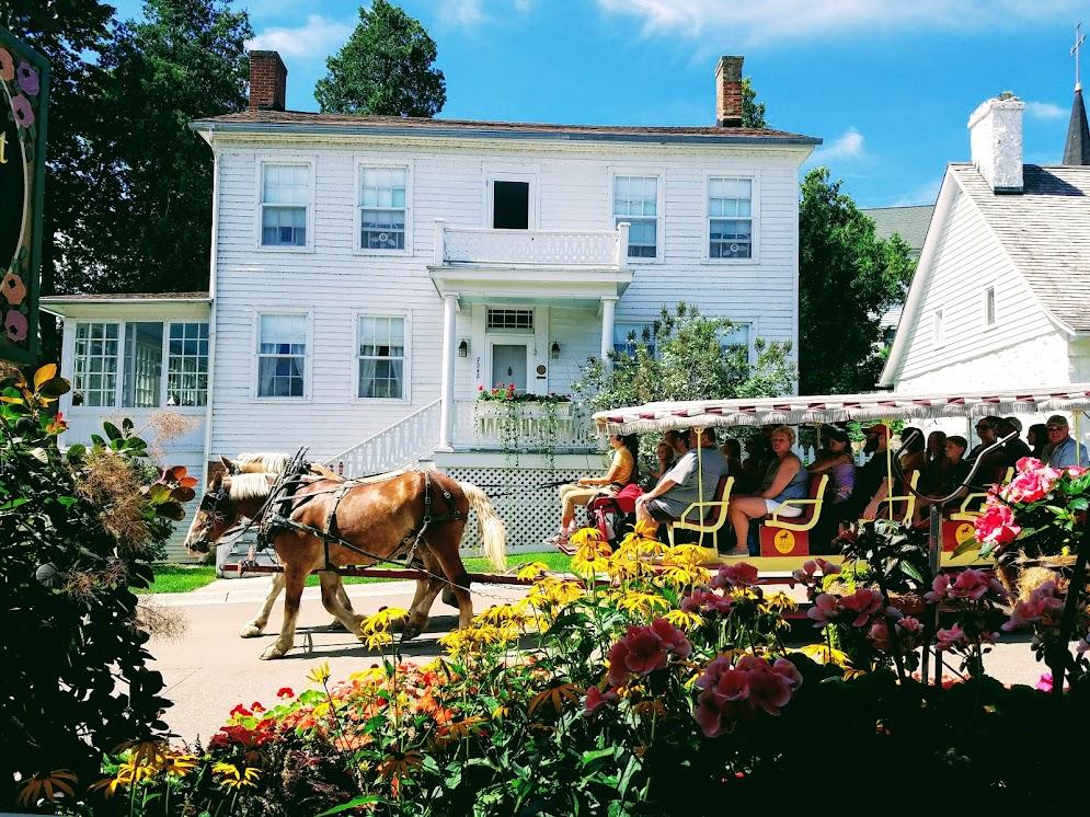 Mackinac Island Carriage Tours by FlowerChick.com
