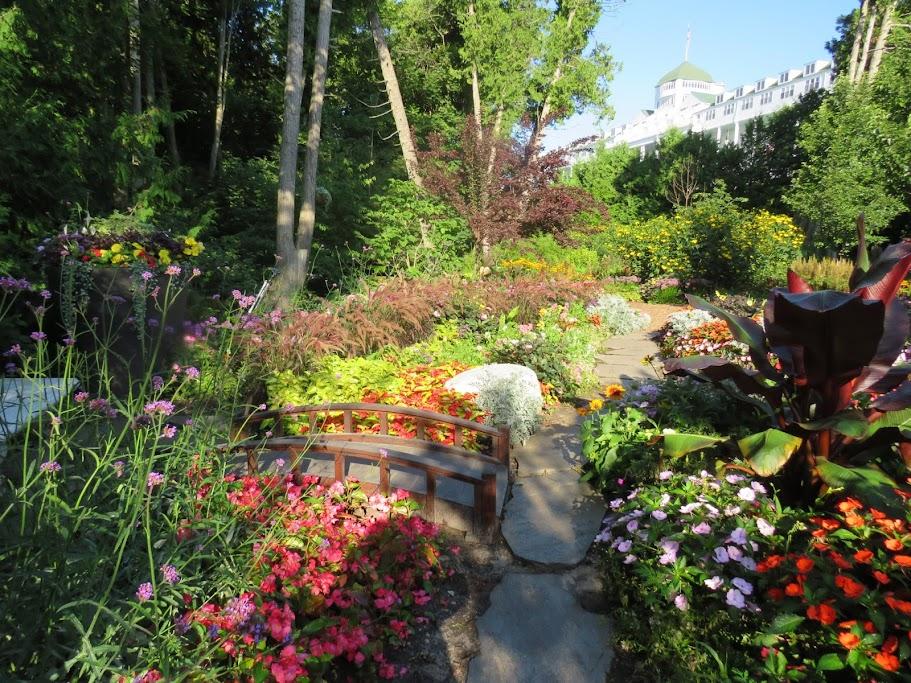 Gardens of Mackinac Island by FlowerChick.com
