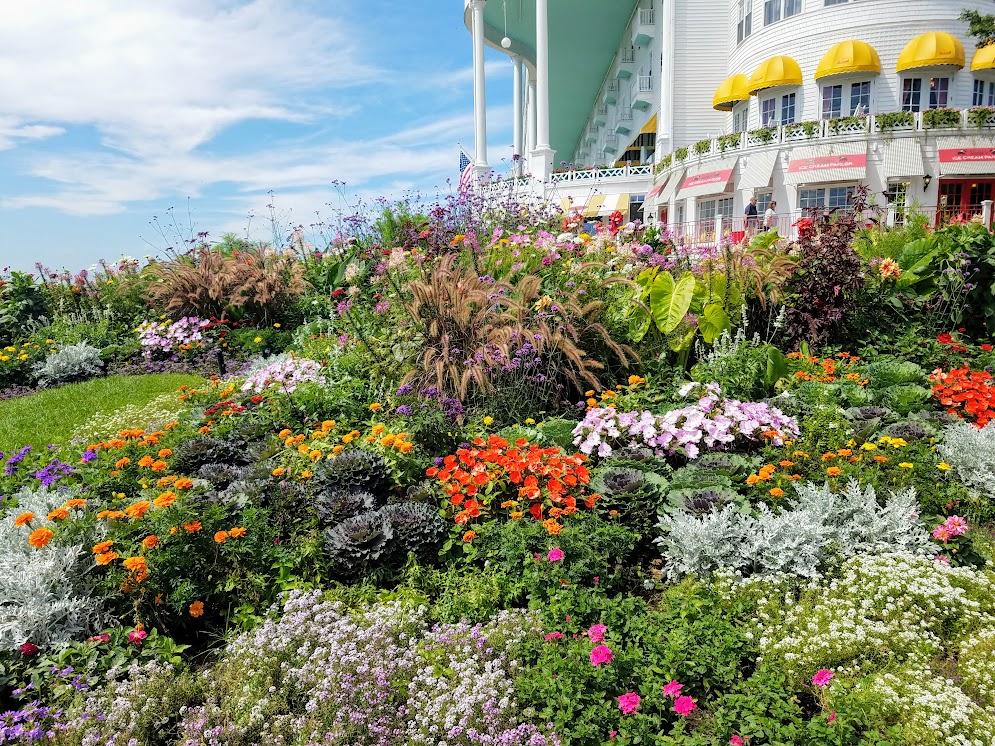 The Grand Hotel Gardens Mackinac Island