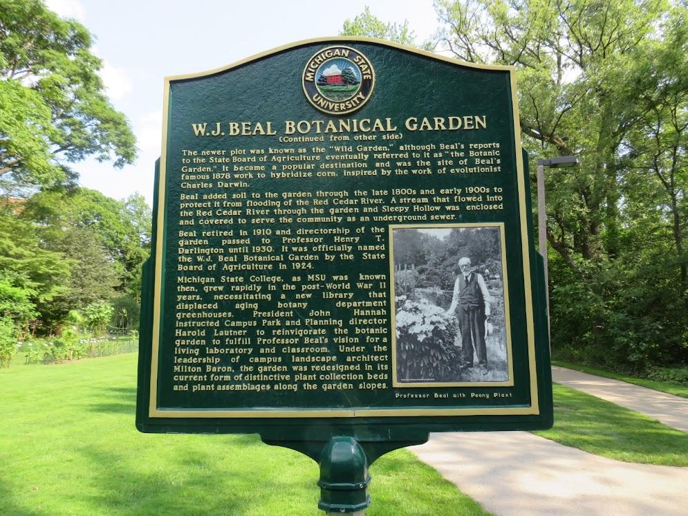 Lansing Gardens Beal Botanical
