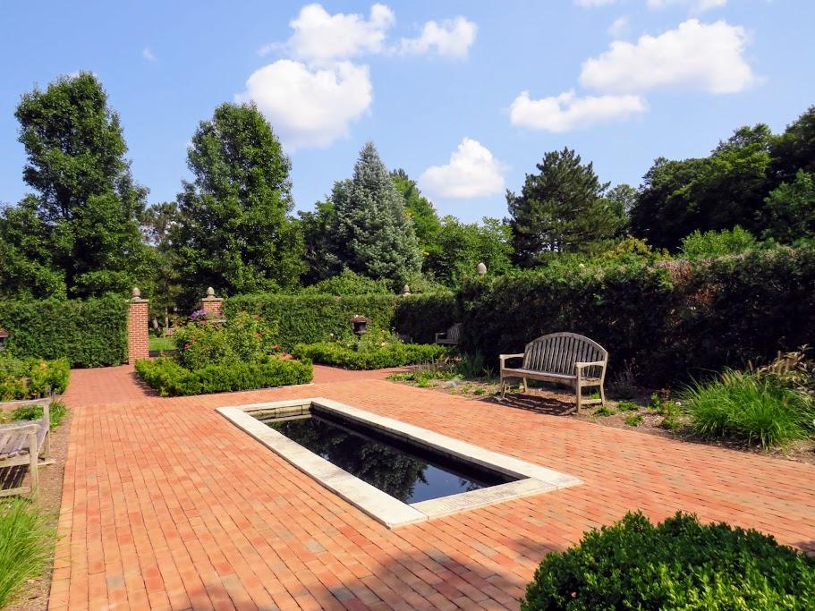 Formal English Garden at MSU Landscape Arboretum