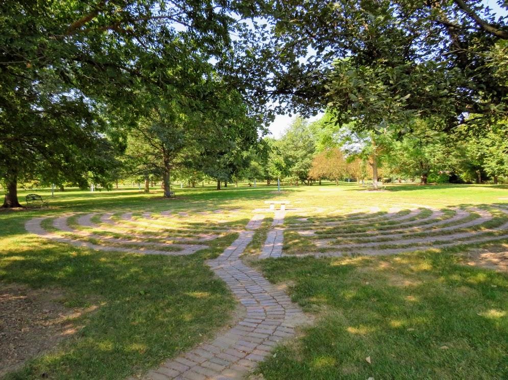 Muscatine Arboretum Labyrinth