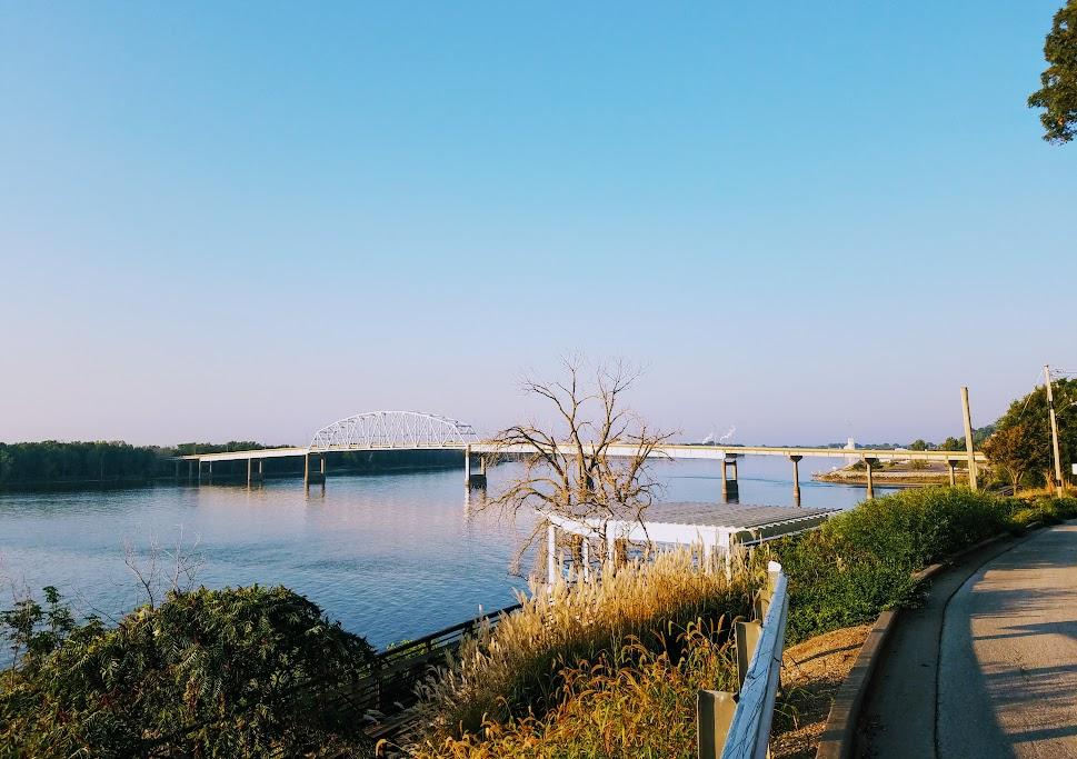 Norbert Beckey Bridge Muscatine Iowa