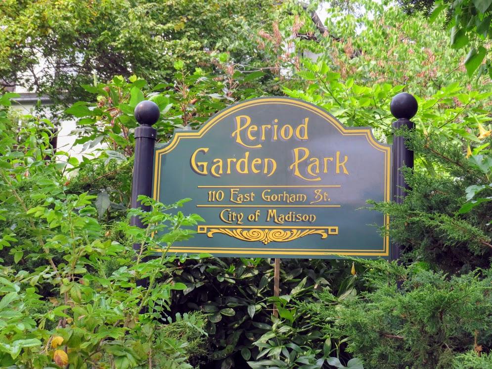 Period Garden Park Madison WI